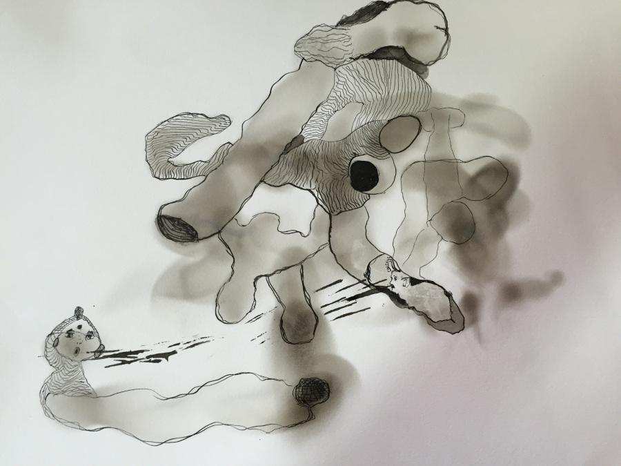 IMG_4411_Zoraida Anaya_fumage and Indian ink on paper